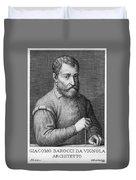 Giacomo Barozzi Da Vignola (1507-1573) Duvet Cover