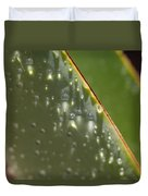 Giant Agave Abstract 4 Duvet Cover