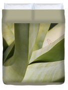 Giant Agave Abstract 8 Duvet Cover