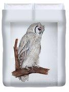 Giant Eagle Owl Duvet Cover