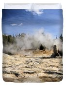 Giant Geyser Group Duvet Cover