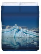 Giant Ice Floes Duvet Cover