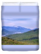 Giant Mountain From Owls Head Duvet Cover