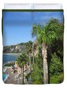 Giant Palm Duvet Cover