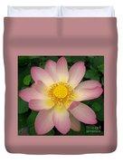 Giant Pink Lotus Duvet Cover