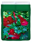 Giant Poppies Duvet Cover
