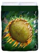 Giant Sunflower Drama Duvet Cover