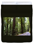 Giants And The Road Duvet Cover