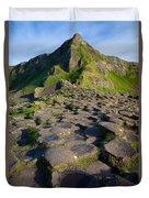 Giant's Causeway Green Peak Duvet Cover