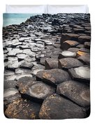 Giant's Causeway Hexagons Duvet Cover