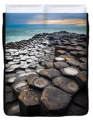 Giant's Causeway Hexagons Duvet Cover