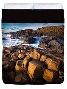 Giant's Causeway Surf Duvet Cover
