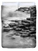Giant's Causeway Waves  Duvet Cover