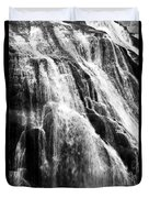 Gibbon Falls Duvet Cover by Bill Gallagher