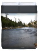 Gibbon River Duvet Cover