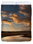 Gibbon River Yellowstone Duvet Cover