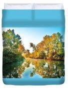Gibralter Mi Waterway Duvet Cover