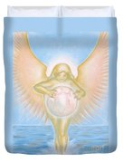 Gift Of The Golden Goddess Duvet Cover