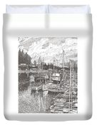 Gig Harbor Entrance Duvet Cover