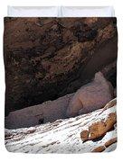 Gila Cliff Slope Duvet Cover
