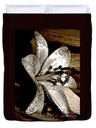 Gilded Lilies 3 Duvet Cover