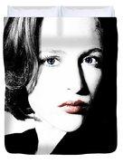 Gillian Anderson Duvet Cover