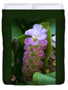 Ginger Flower Duvet Cover