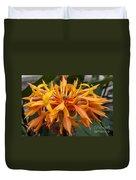 Ginger Flower Duvet Cover
