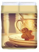 Gingerbread Man Duvet Cover
