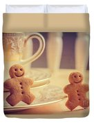 Gingerbread Men Duvet Cover