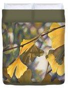Ginkgo Gold Duvet Cover