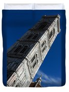 Giotto Fantastic Campanile - Florence Cathedral - Piazza Del Duomo - Italy Duvet Cover