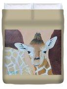 Giraffe Baby Duvet Cover