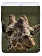 Giraffe Hey Are You Looking At Me Duvet Cover