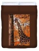 Giraffe Photo Art 03 Duvet Cover