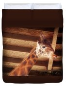Giraffe Smarty Duvet Cover