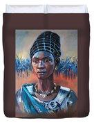 Girl South Sudan Duvet Cover