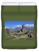 Gjirokaster Castle Albania  Duvet Cover