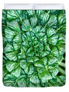 Glabrous Leaves Duvet Cover