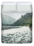 Glacial River Duvet Cover