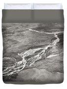 Glacial Rivers Duvet Cover