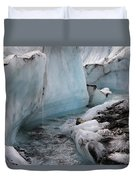 Glacial Waters Duvet Cover