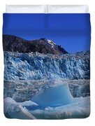 Glacier And Ice Duvet Cover