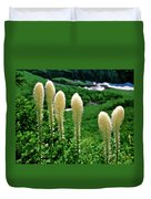 Glacier Beargrass Swiftcurrent Pass Duvet Cover