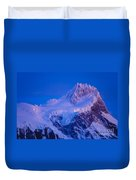 Glacier Covered Paine Grande, Chile Duvet Cover