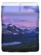 Glacier Glow Duvet Cover