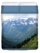 Glacier Mountain Duvet Cover