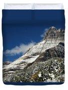 Glacier Mountains Duvet Cover