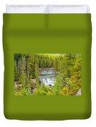 Glacier National Park Splendor Duvet Cover