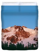 Glacier Peak At Kennedy Ridge Duvet Cover